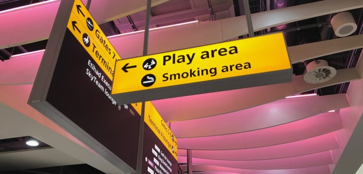 Smoking Guide London Heathrow