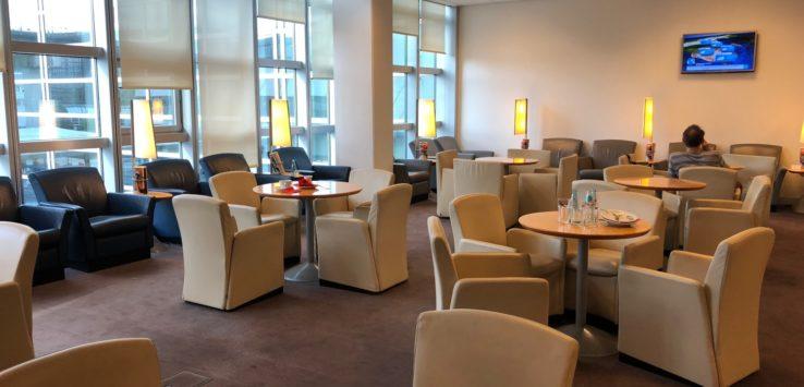 Air France Lounge Frankfurt Review