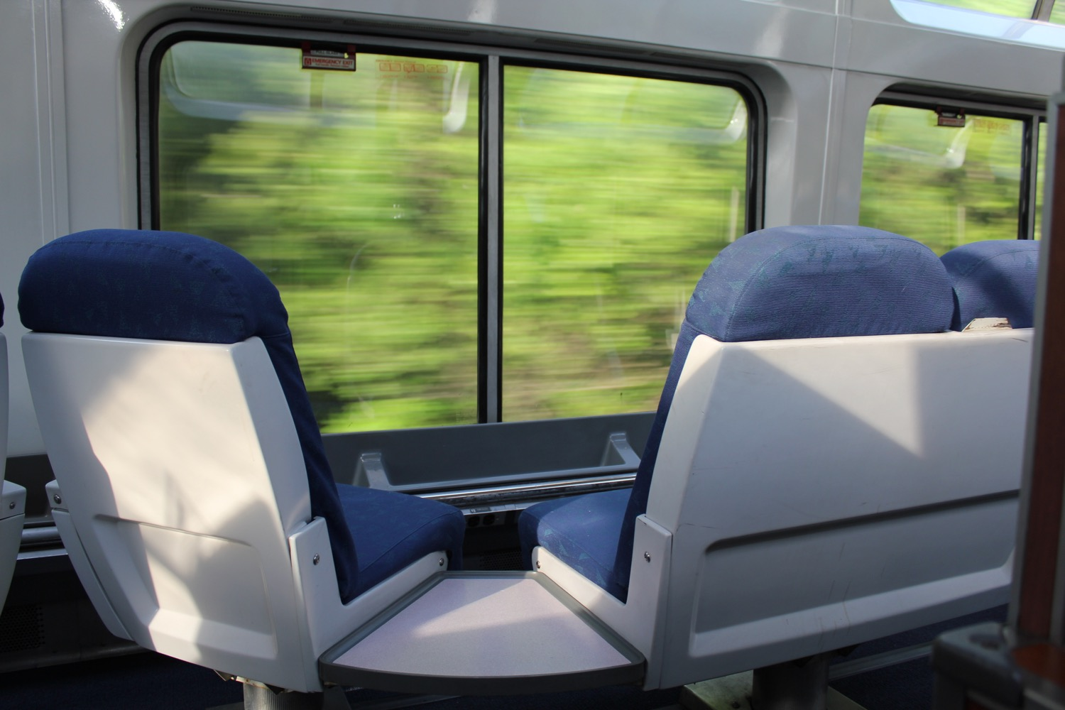 Train Review: Amtrak's Sleeper Car Roomette — Empire Builder
