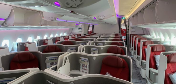Hong Kong Airlines New A350 Business Class