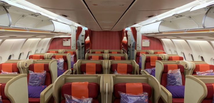 Hong Kong Airlines A330 Business Class