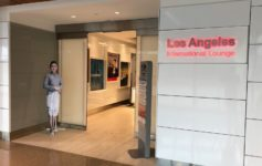 Los Angeles International Lounge LAX Review