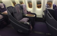 Thai Airways A333 Business Class Review