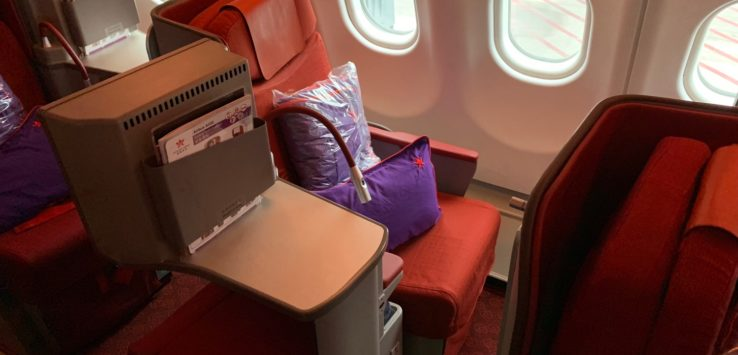 Hong Kong Airlines A330 Business Class Review
