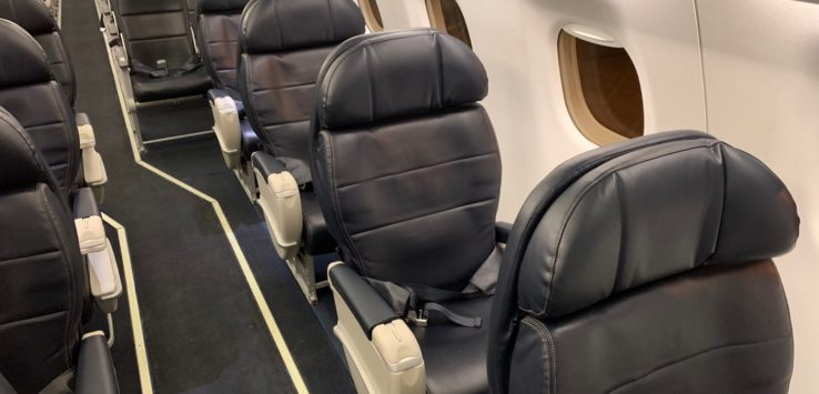 Alaska Airlines Horizon E-175 First Class Review