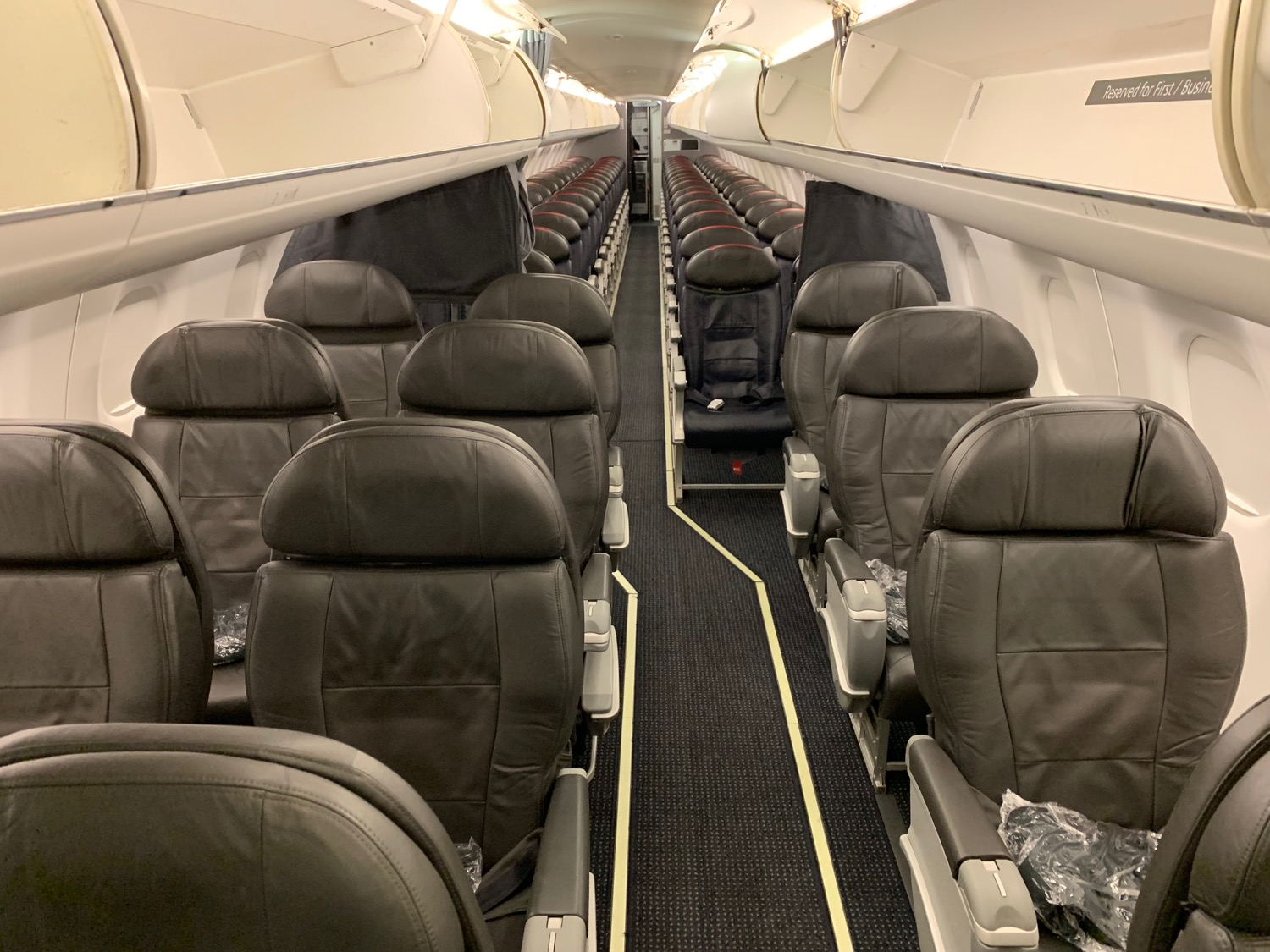 American Airlines Compass E175 First Class Review