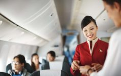 Cathay Pacific Flight Attendant Theft