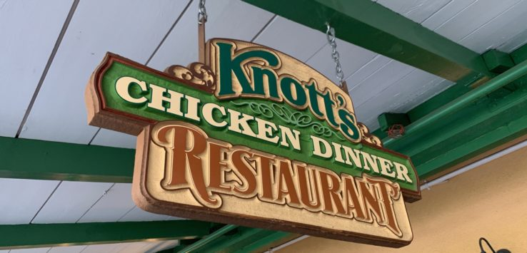 Knotts Berry Farm Chicken Dinner Restaurant Review