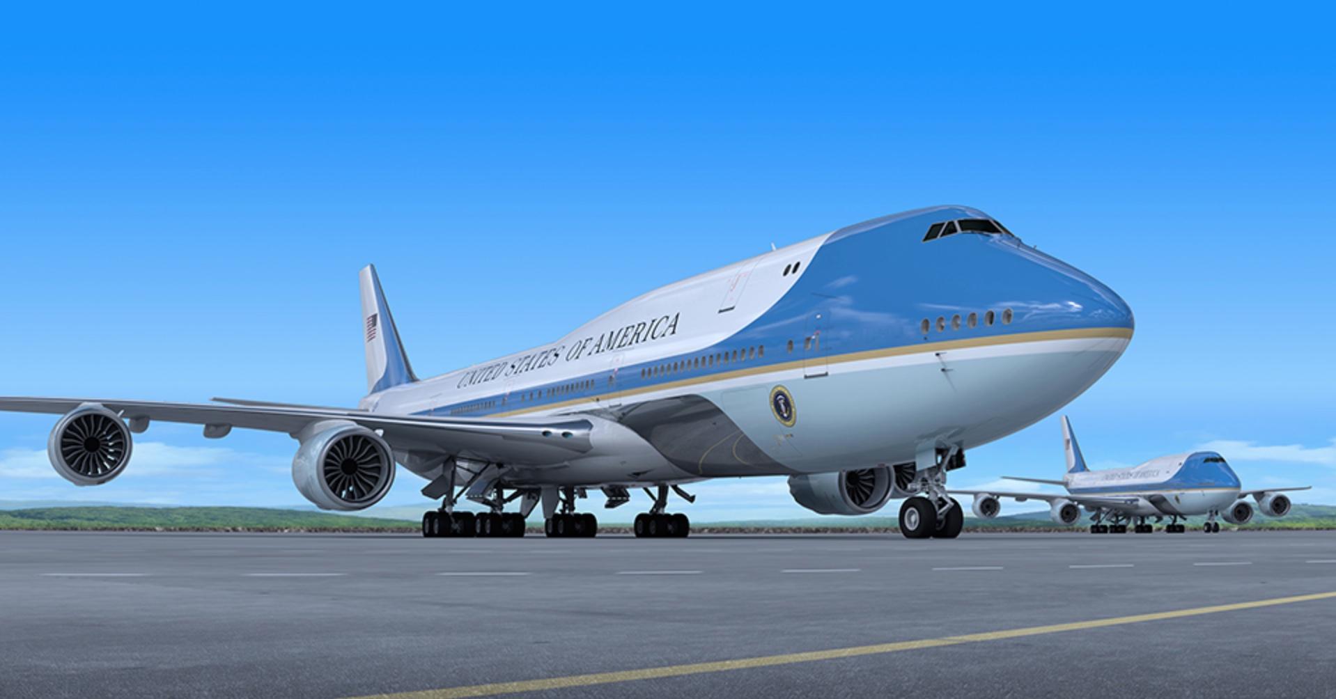 Air Force One US Airways Airways Livery