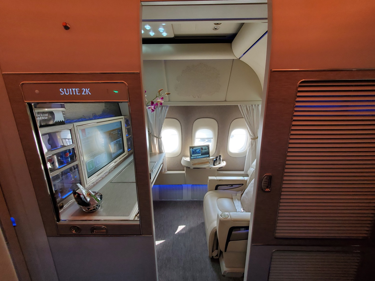 Emirates 777-300ER New First Class Review