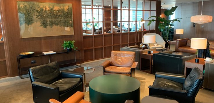 Cathay Pacific The Deck Lounge Review