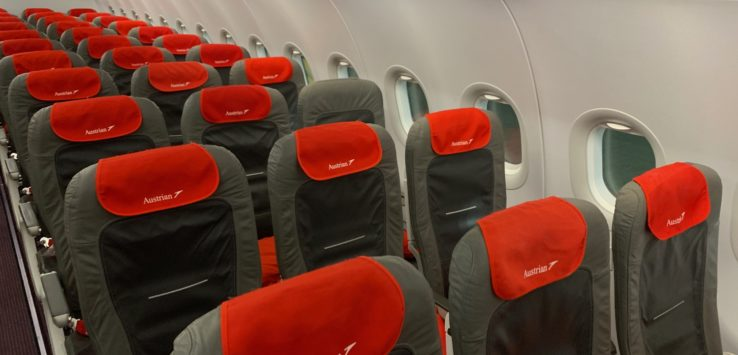 Austrian Airlines A320 Economy Class Review