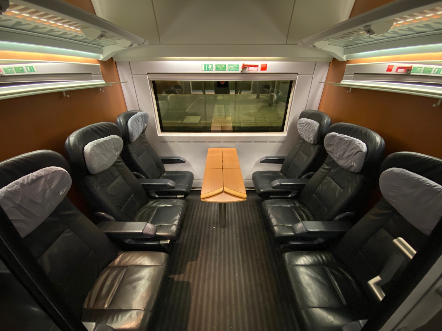 Train Review: Deutsche Bahn Intercity Express (ICE) First Class - Live and Let's Fly