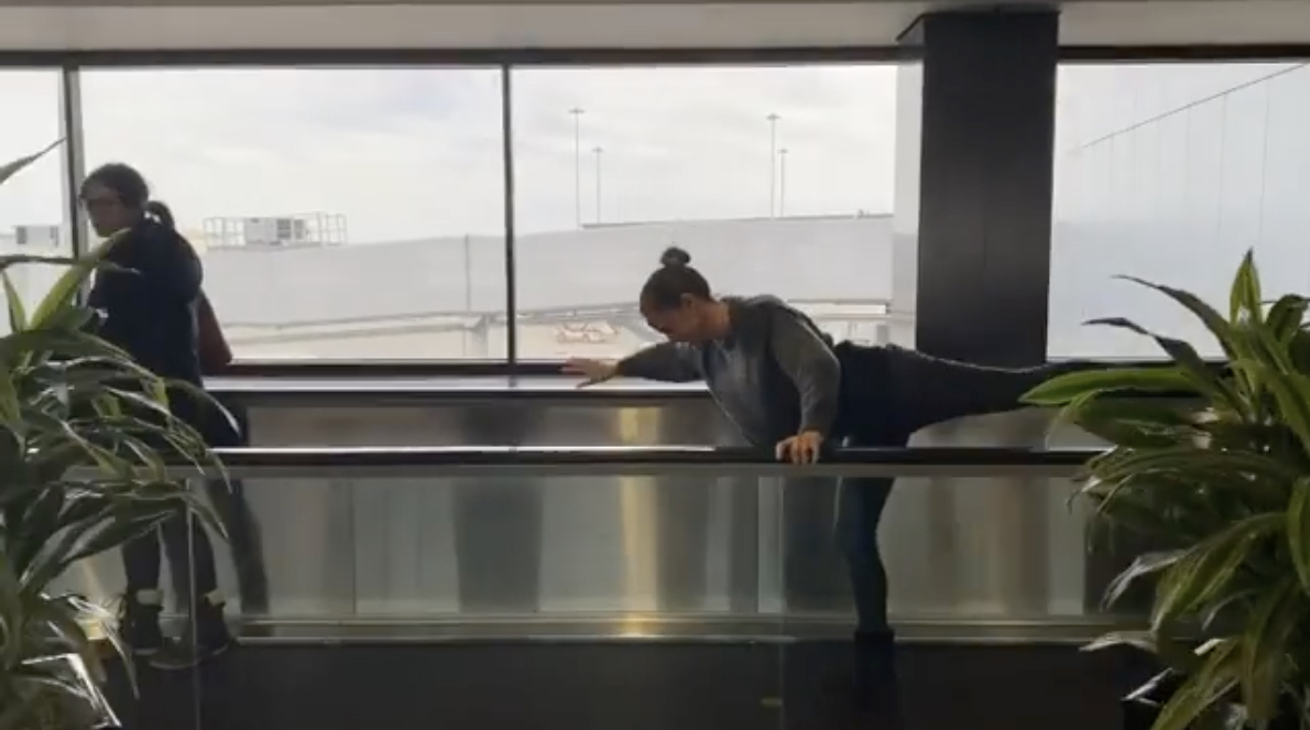 SFO Airport Was Made For Jennifer Garner - Live and Let's Fly