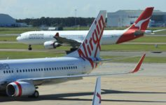 Qantas Battles Virgin Australia