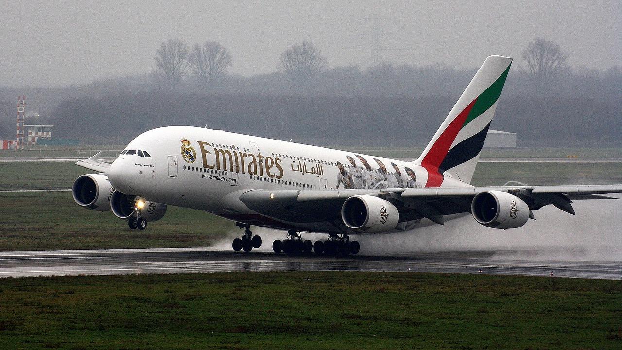 Emirates A380 Crash