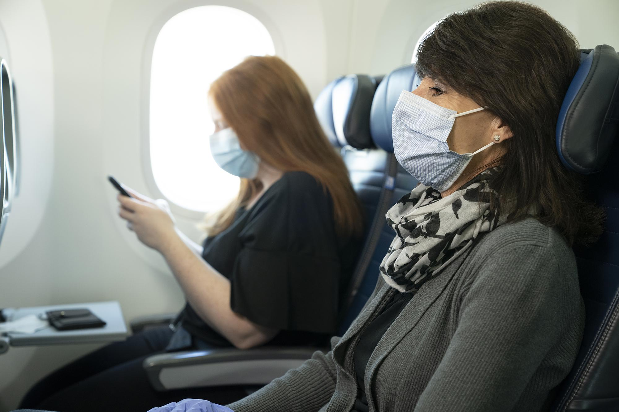 United Airlines Mask Ban