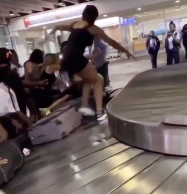 PHL Baggage Claim Fight