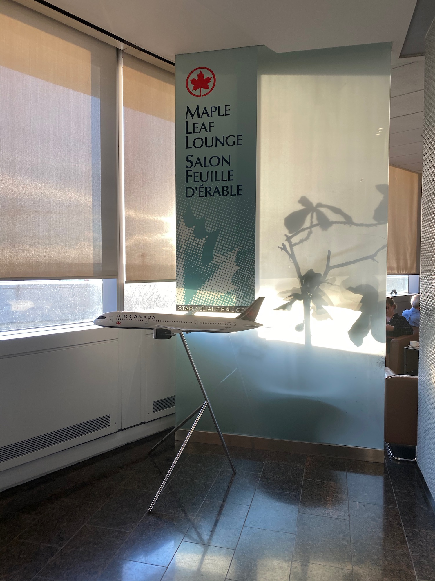 Air Canada Transborder Maple Leaf Lounge Toronto Review