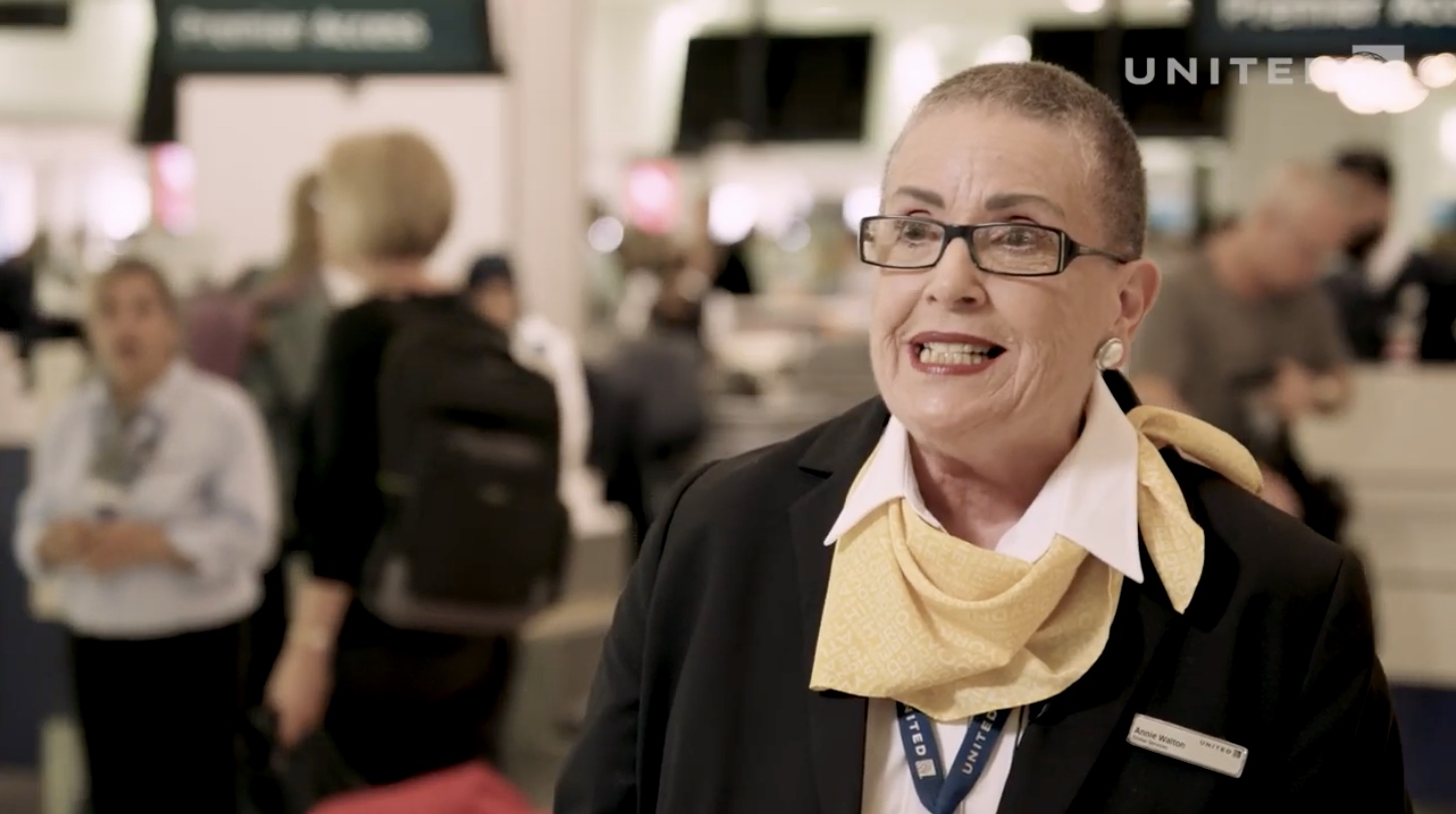 United Airlines Annie Walton