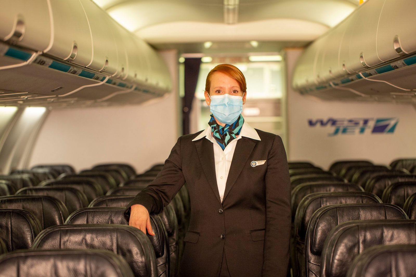Masking The Truth On WestJet - Live and Let's Fly