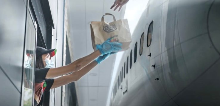 Burger King Aviation Commercial