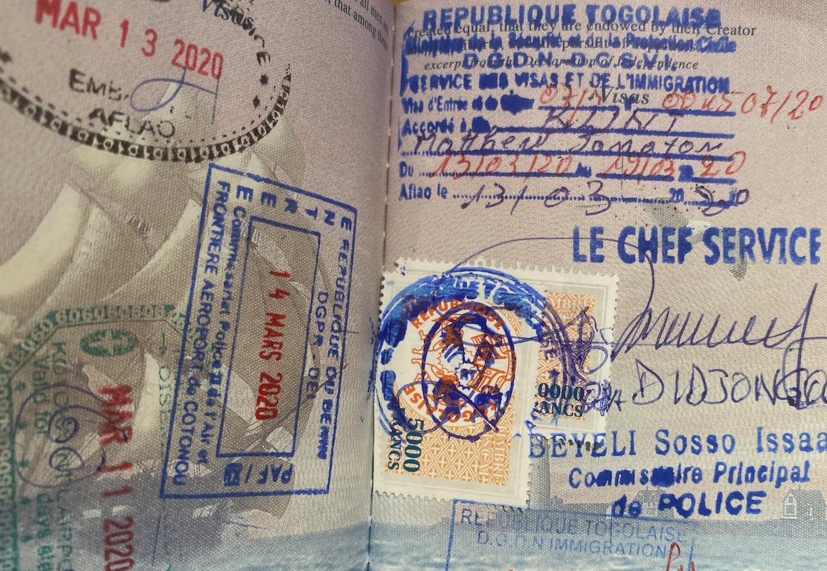 Visa On Arrival Togo