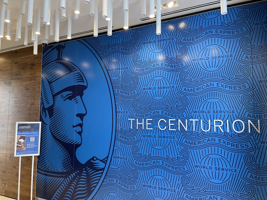 American Express Centurion Lounge Charlotte welcome