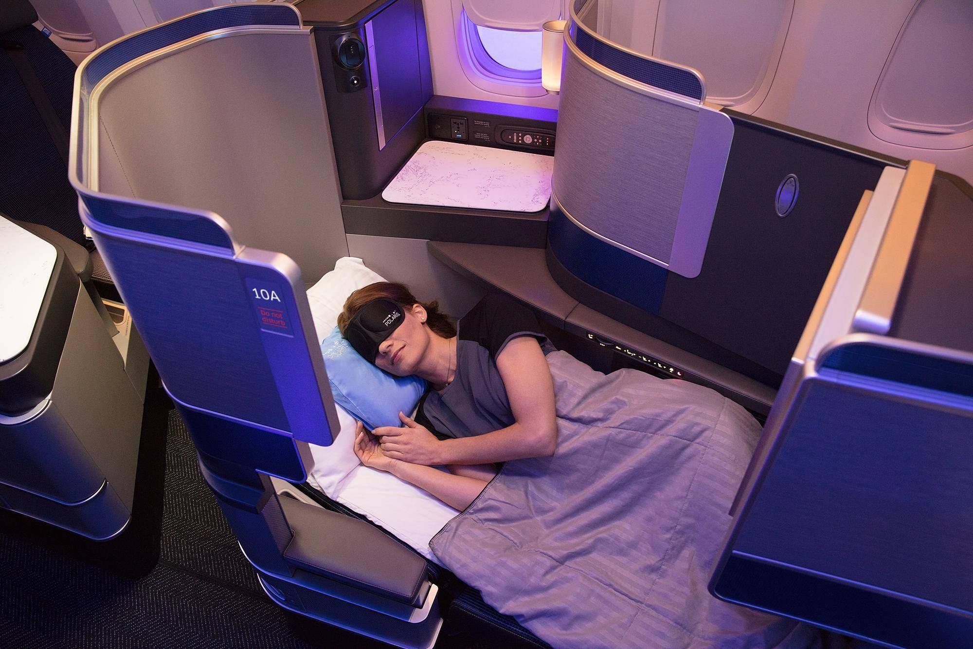 United Airlines Polaris Retrofits