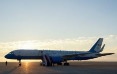 Air Force Two Diverts