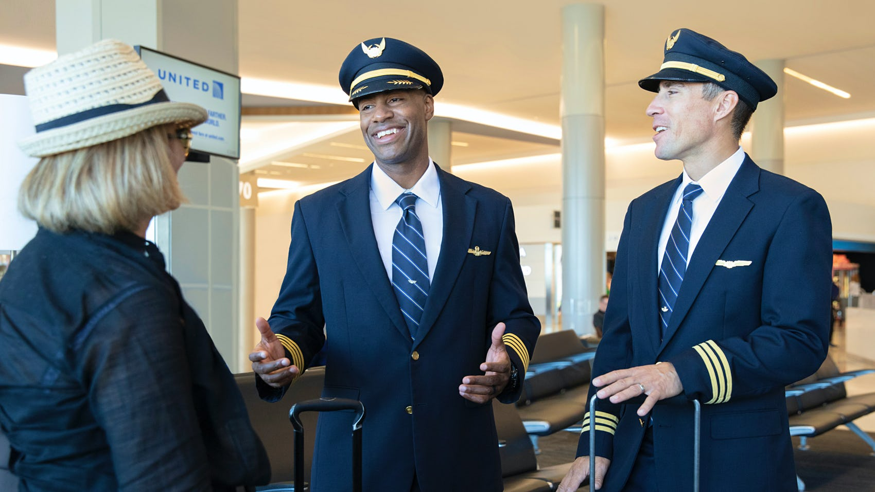 United Airlines Pilots Customer Experience
