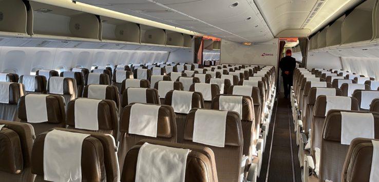 SWISS 777-300ER Economy Class Review