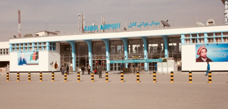 Kabul Airport Checkpoints