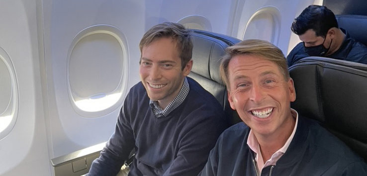 Jack McBrayer American Airlines